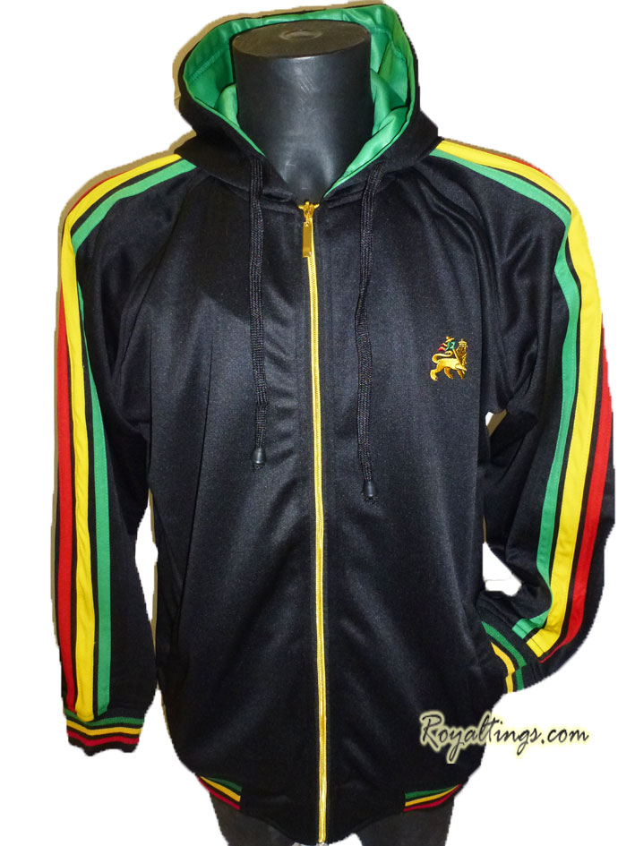 Nylon Rasta lion Jacket