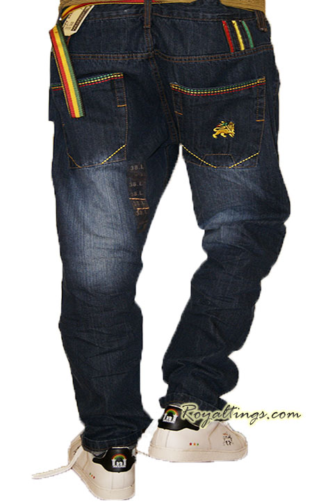 Jean pantalones Rasta Lion of judah 3