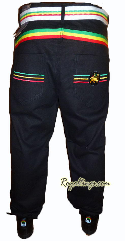 Jean Rasta pantalones Lion of judah 10
