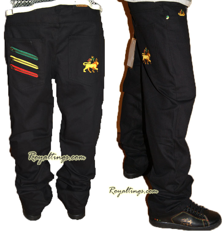 Jean Rasta Pantalon Lion of Judah
