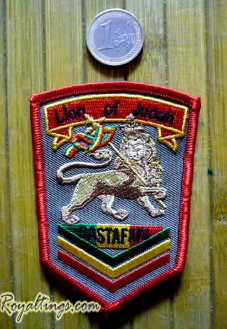 Patch rasta lion of judah 2
