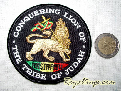 Patch Ecusson Rastafari