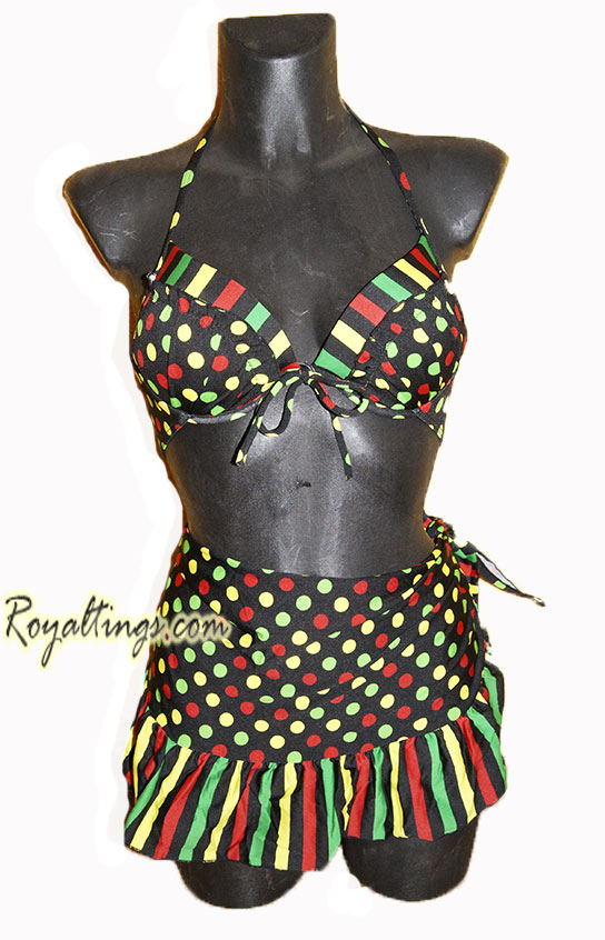 Rasta Bathing Suit 1