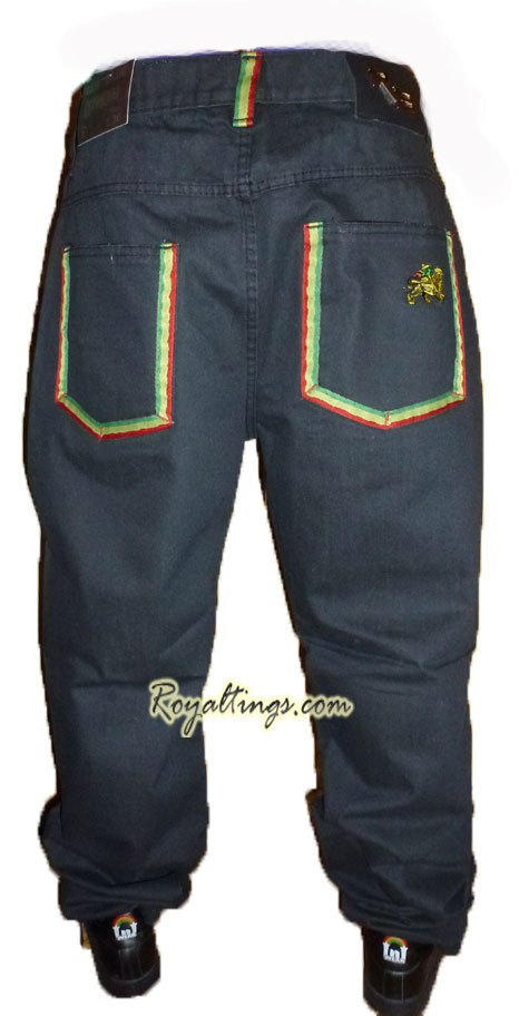 Jean pantalon Rasta Lion of Judah 4
