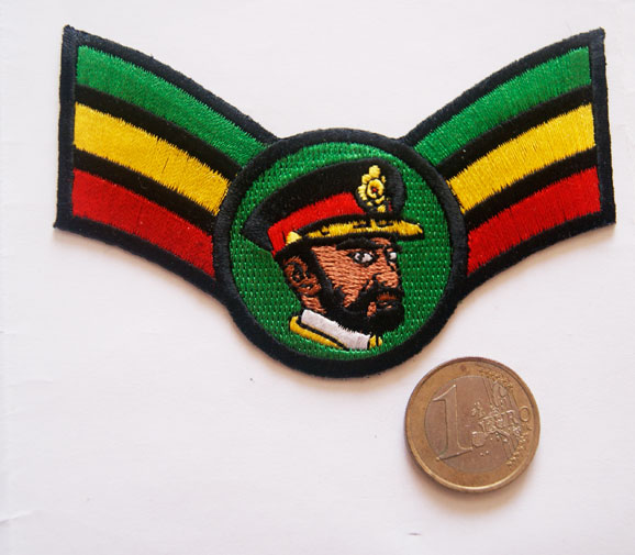 Patch Selassie I Rastafari