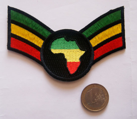patch ecusson rasta Africa