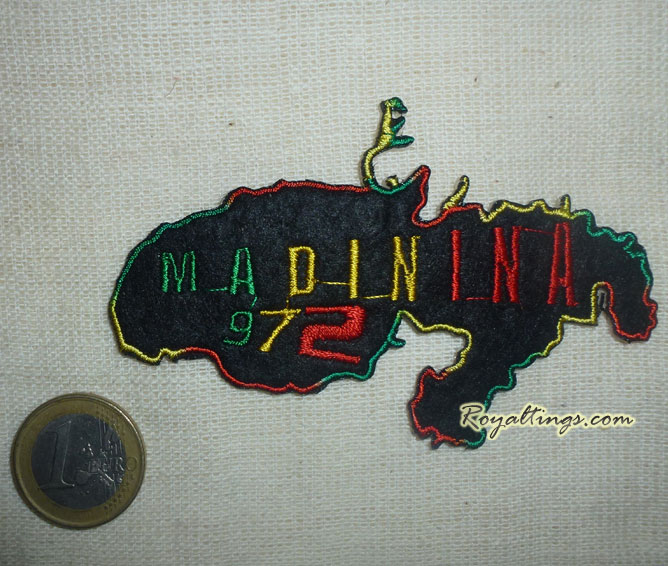 patch ecusson rasta madinina 972
