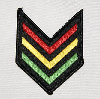 patch rasta shoulder