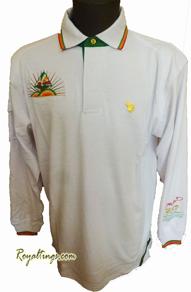 Polo Sweat Rasta Roots Bare Fox