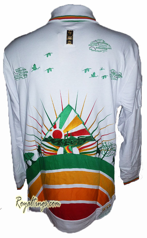 Polo Sweat Rasta Roots Bare Fox 1