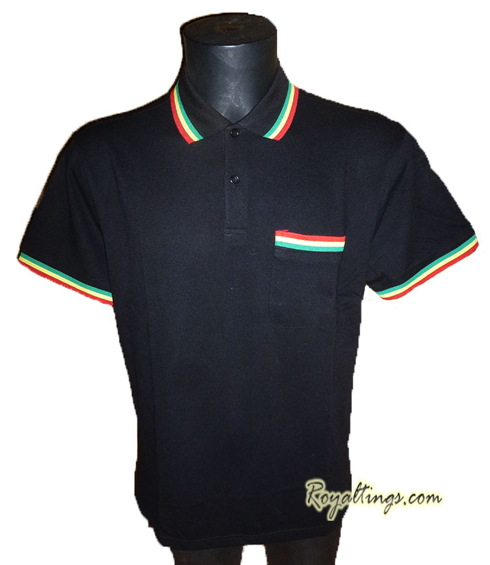 Polo Rasta Stripe