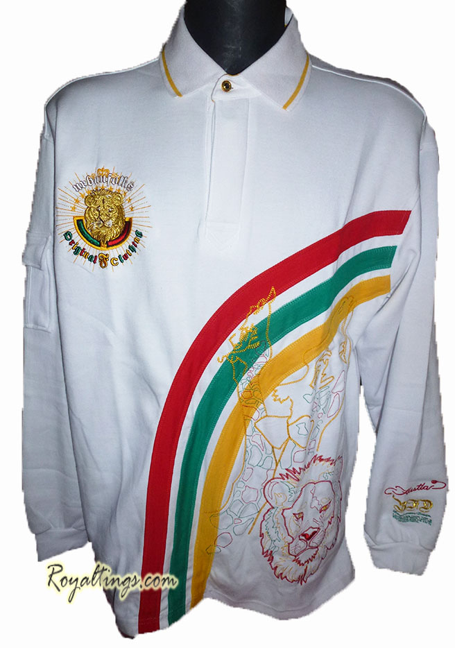 Polo Sweat Rasta Lion Bare Fox