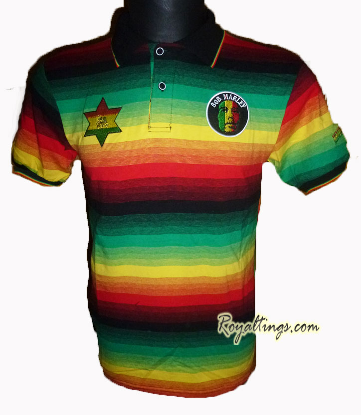 Polo Stretch Bob Marley Jamaica 2