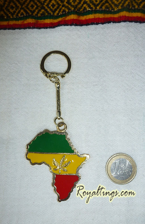 Porte-clefs Africa Weed