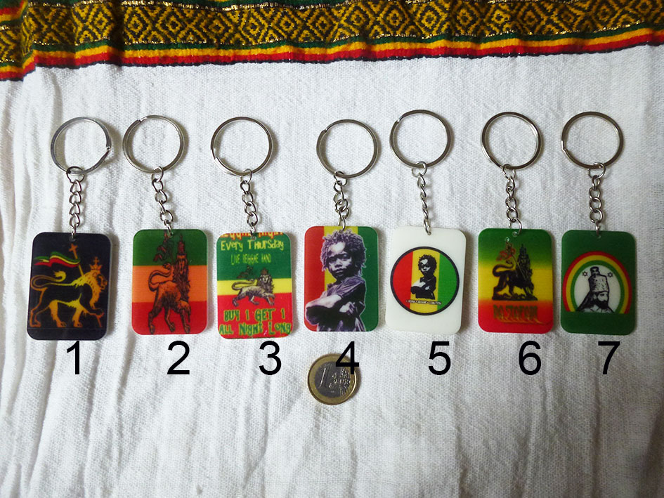 Key rasta rings