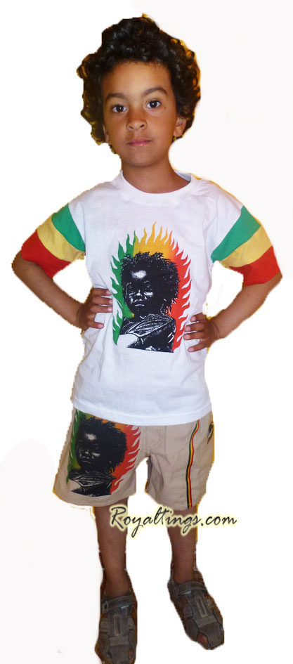 Children suit Rasta Baby
