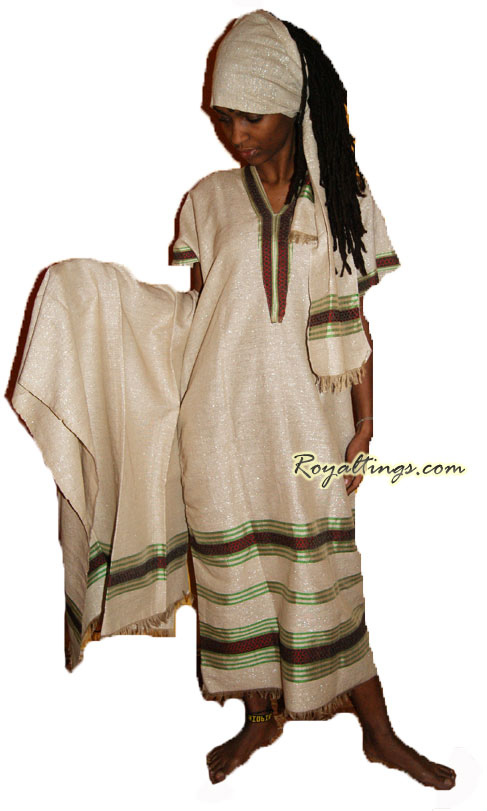rasta ethiopian dress