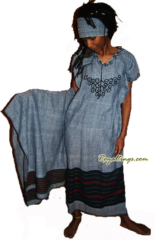 Ethiopian rasta dress 3