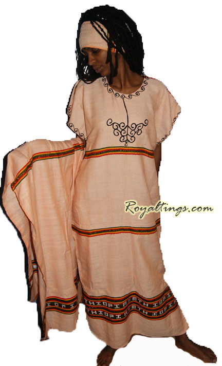 Ethiopian rasta dress 4