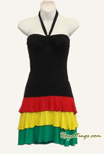 Rasta Queen dress