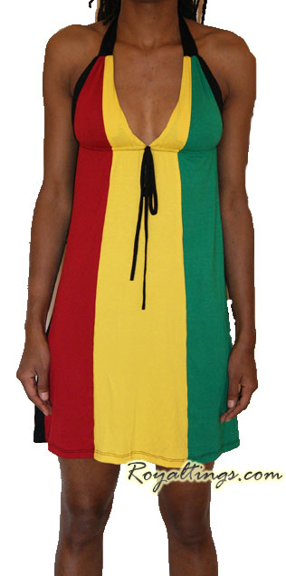 rasta Queen Dress 3