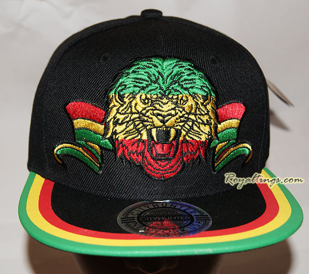 snapback cap lion head 2
