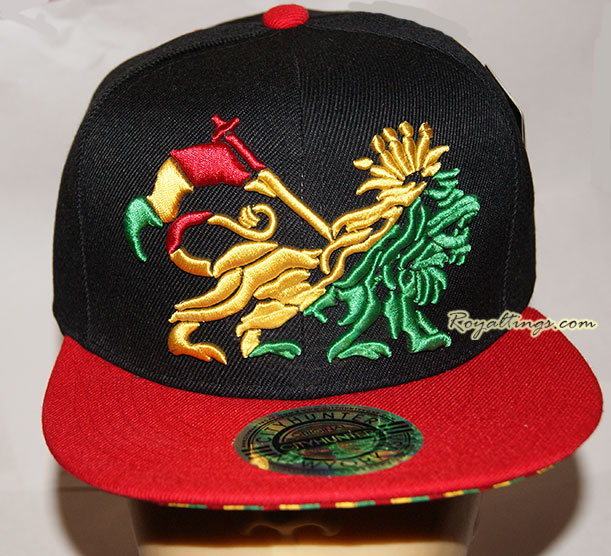 snapback cap lion of judah  2