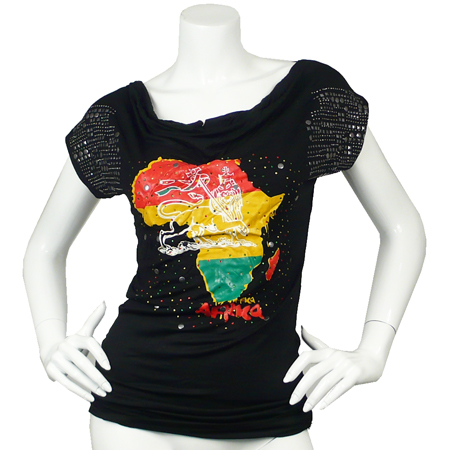Tee shirt Lion of Juda Africa