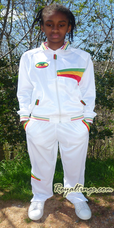 Ensemble Survetement rasta lion enfant