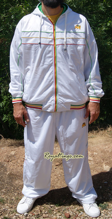 Nylon Rasta lion suit 6