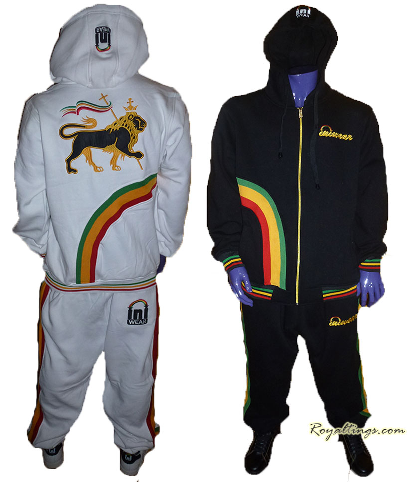 Ensemble survetement INIWEAR Rainbow Rasta