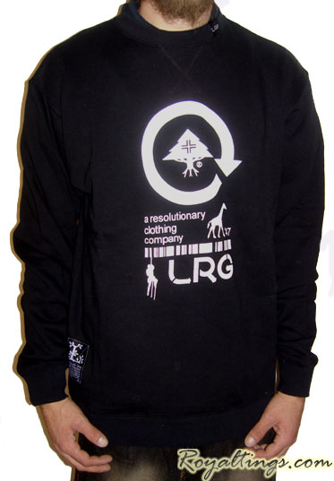 Sweat LRG Crew Neck Black