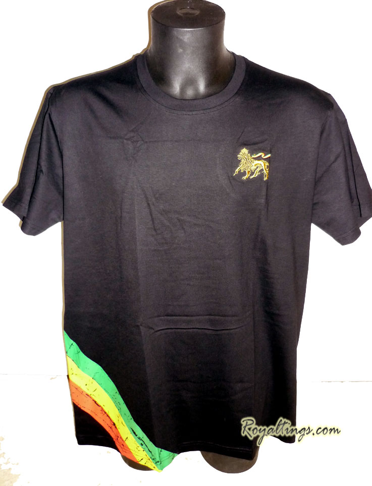 Tee shirt Rasta Lion 5