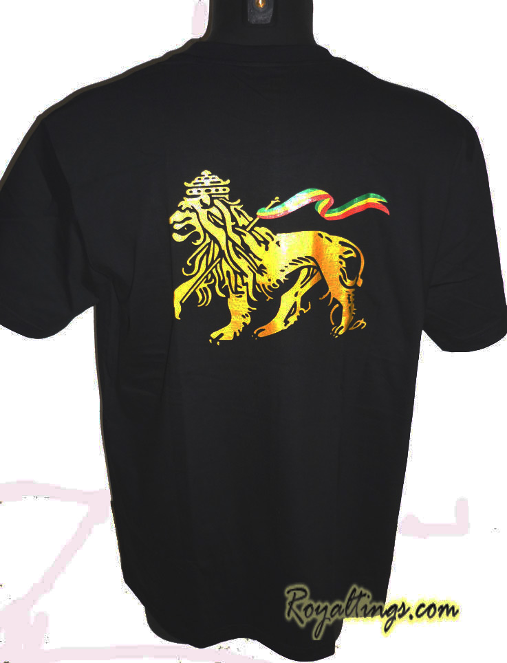 Tee shirt Rasta Lion 8