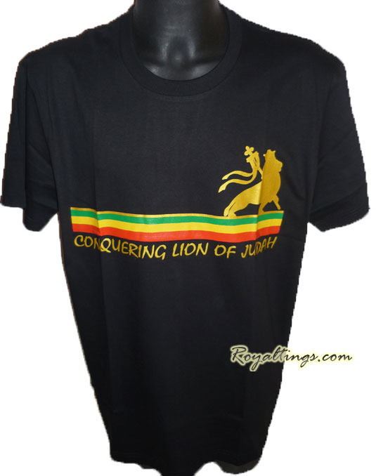 Tee shirt Rasta Lion 3