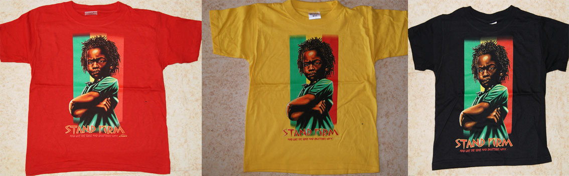 Teeshirt Rasta Baby Youth