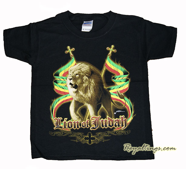 Tee shirt Lion of judah enfant