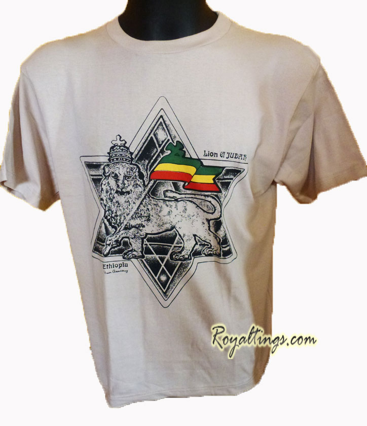 Tee shirt Ethiopian Lion of Judah