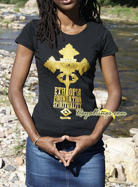 Tee shirt Ethiopia Foundation Queen