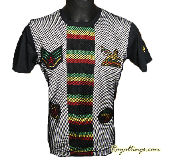 Tee shirt Rasta Filet Patch