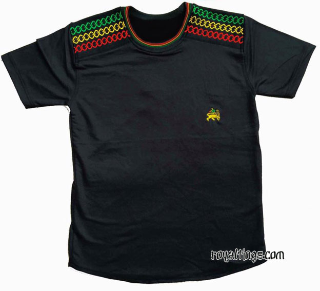 Tee shirt Lion of judah Brodé 2