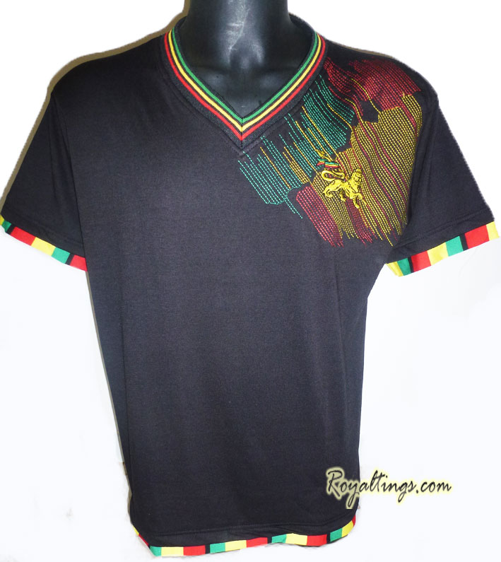 Tee shirt Lion of Judah Brodé