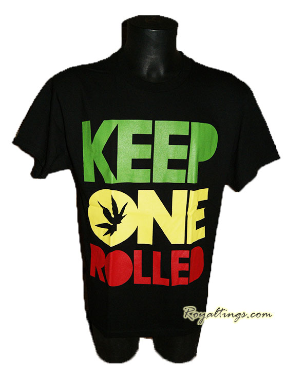 Tee shirt Keep One Rolled