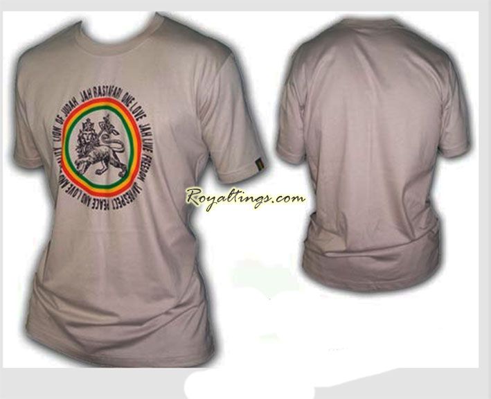 Tee Shirt Rasta Lion
