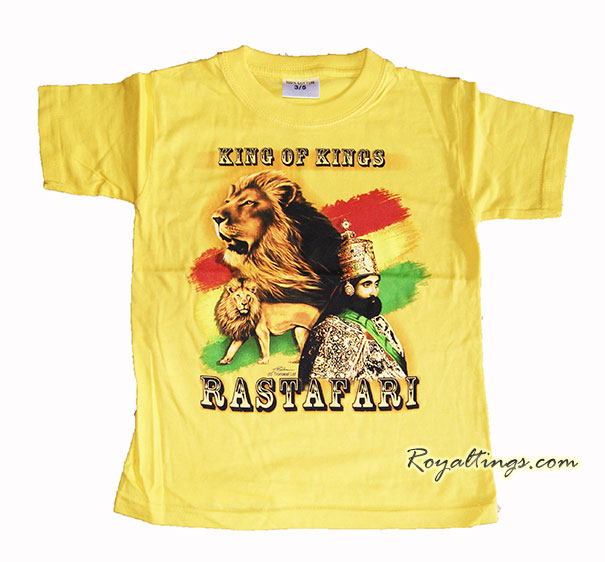 Tee shirt Rastafari + Lion