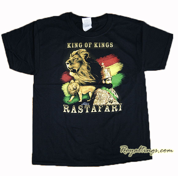 Tee shirt Rastafari + Lion 2