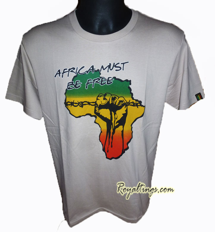 Tee shirt Africa Must be free