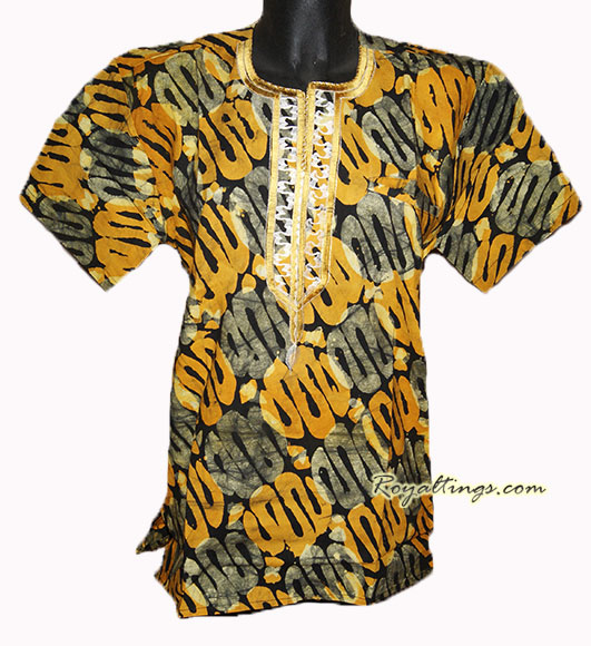 African shirt Woman size M