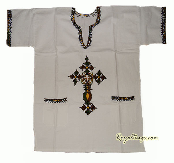 Ethiopian embroiderys shirt