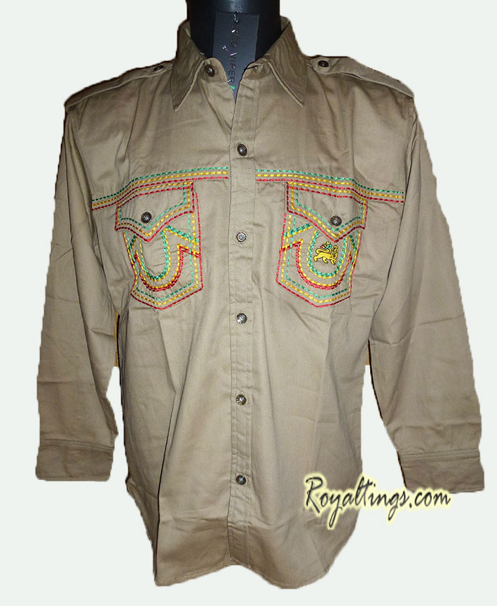 Chemise Rasta Lion of Judah 7